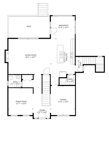 11406 Oxford Station Lane - 2D Floor Plan