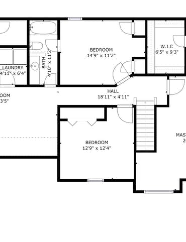 734 Concord Farms Lane - 2D Floor Plan