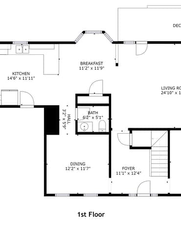 7638 Misty View Lane - 2D Floor Plan