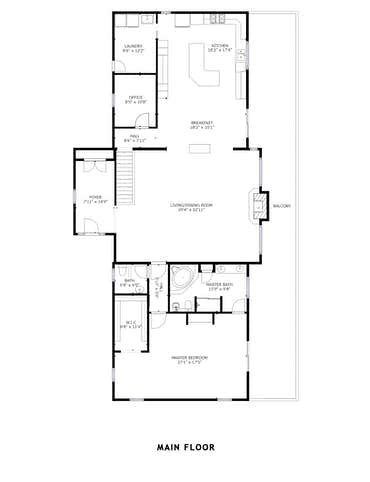 792 Edenwood Way - 2D Floor Plan